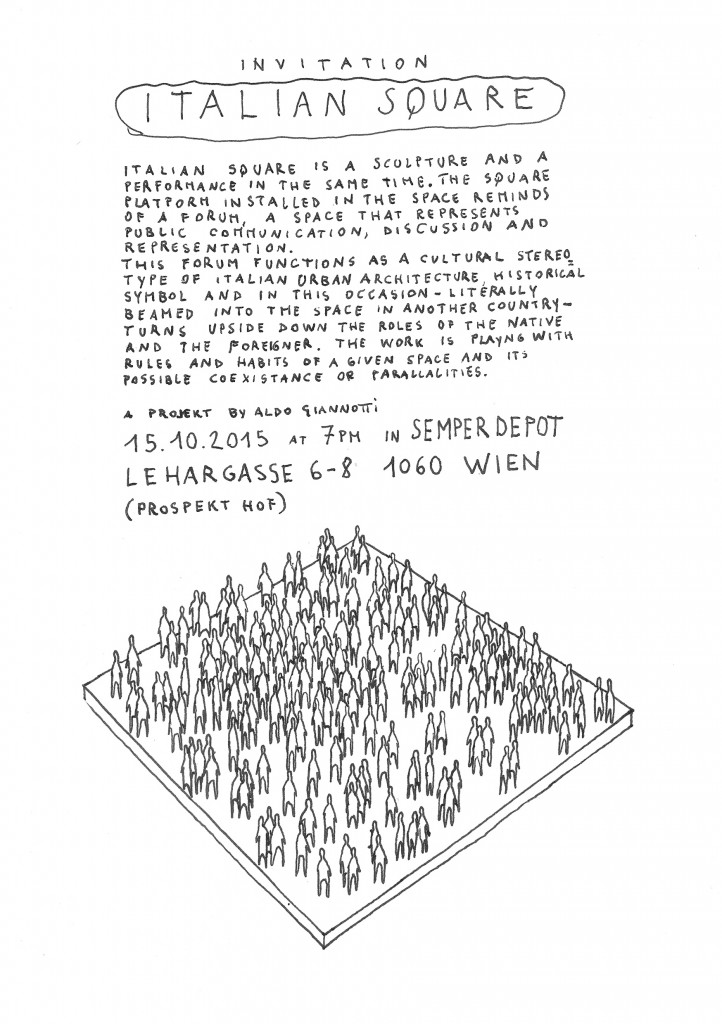 Italian Square  Aldo Giannotti; Italian Square Flyer