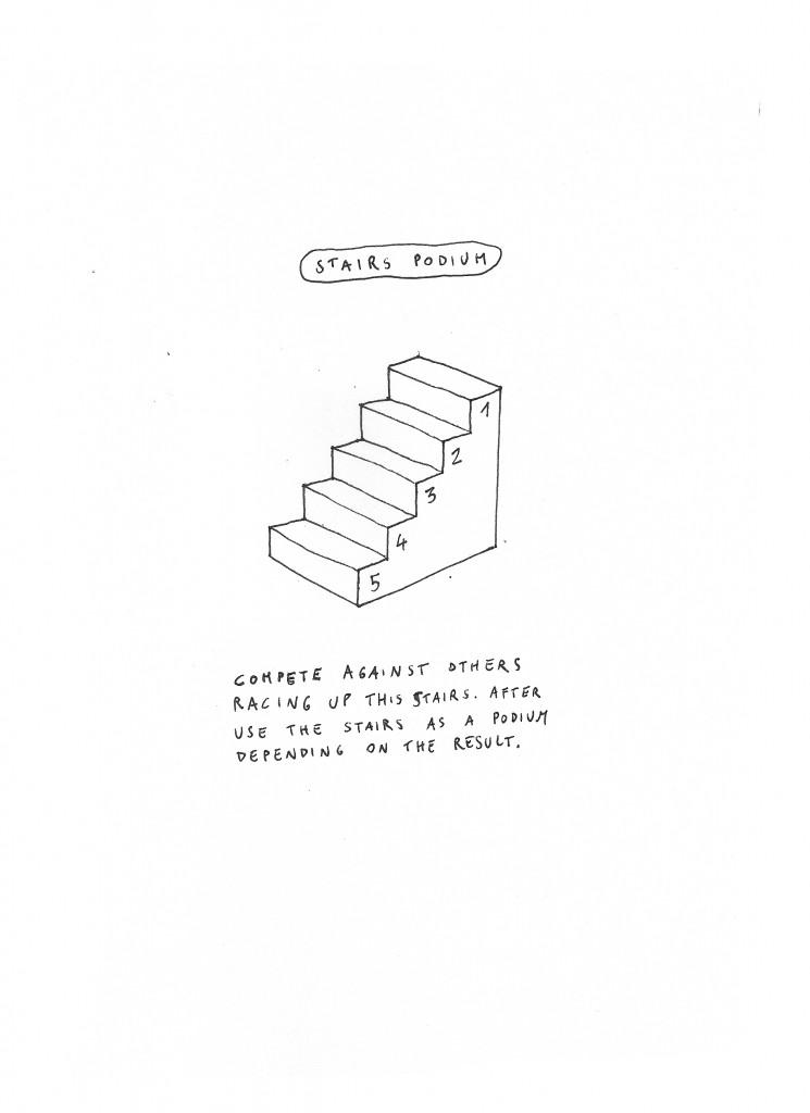 stairs podium-aldogiannotti
