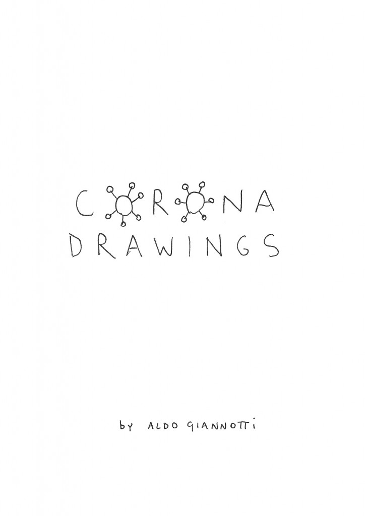 corona drawing cover